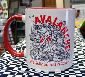 AVALANCHE! Mug