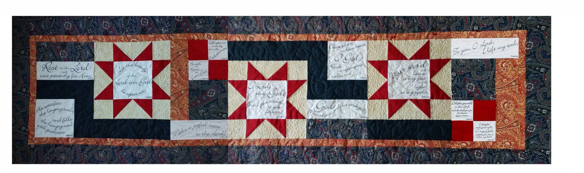 Bed Runner Quilt Fabric Kit