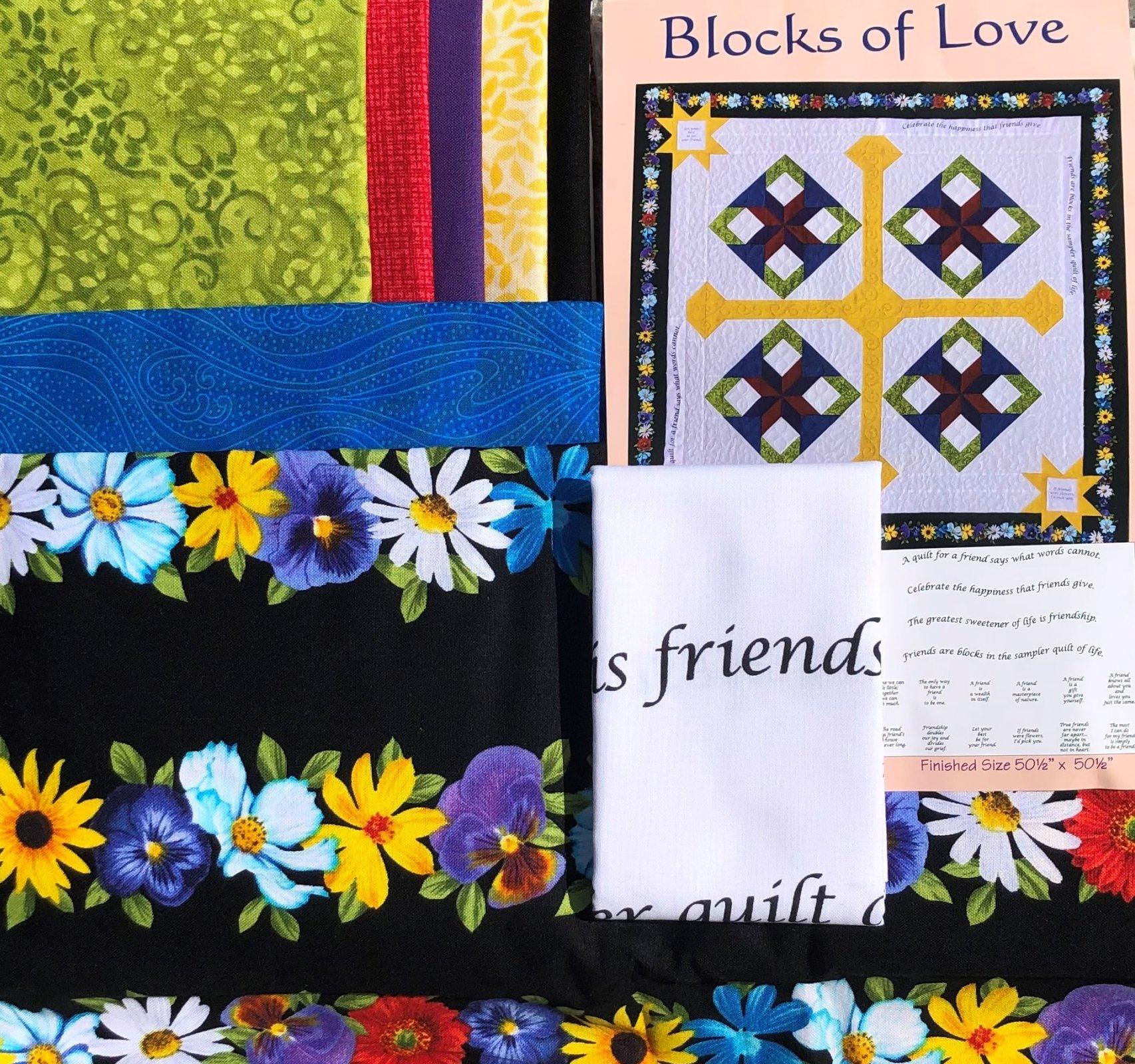 Blocks Of Love Quilt Kit