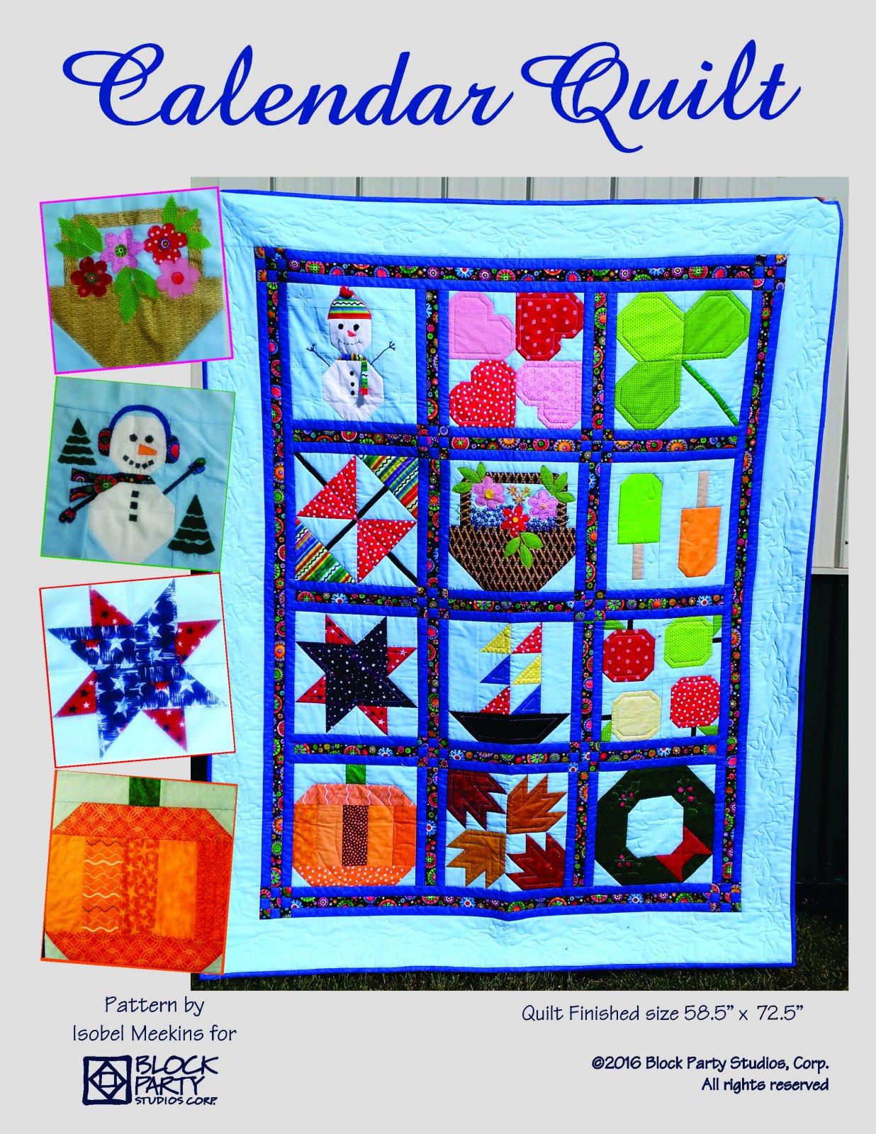 Calendar Quilt Pattern