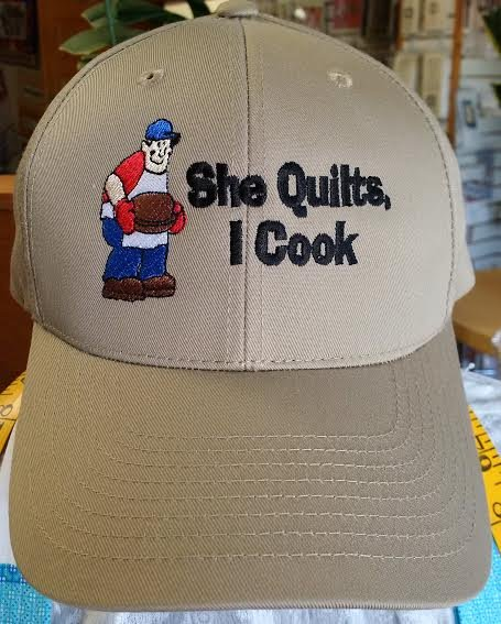 She Quilts - I Cook Cap