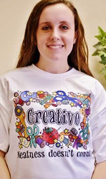 Creative: Neatness doesn't count! T-Shirt