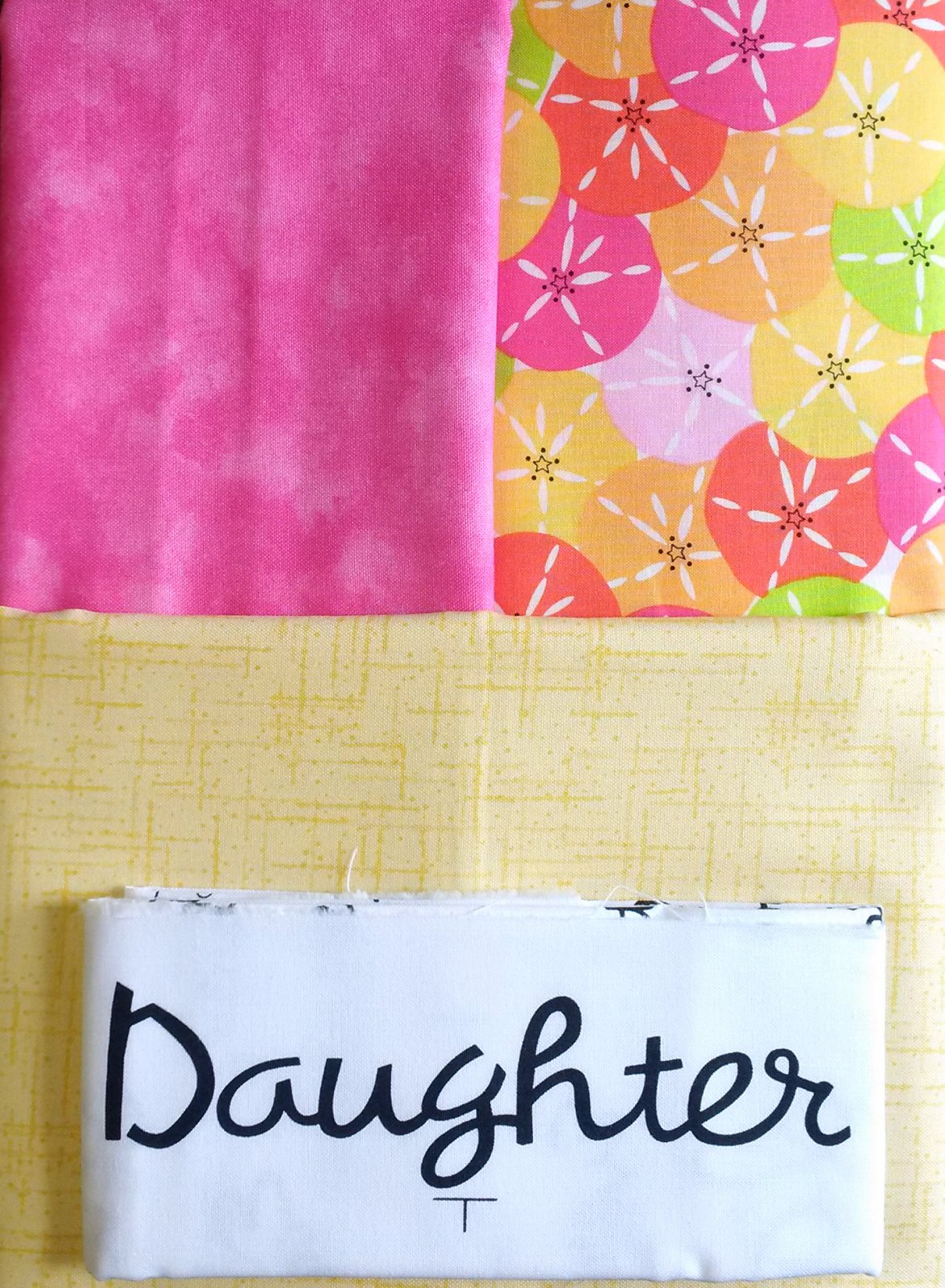 Dear Daughter Quilt Fabric Kit
