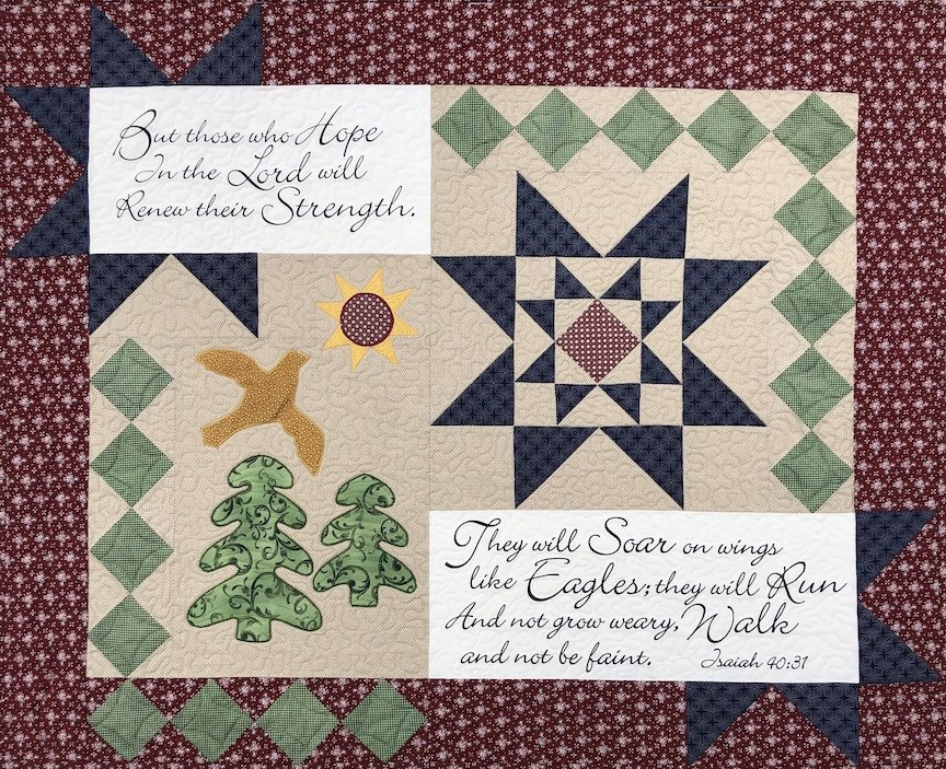 On Eagle's Wings Quilt Kit