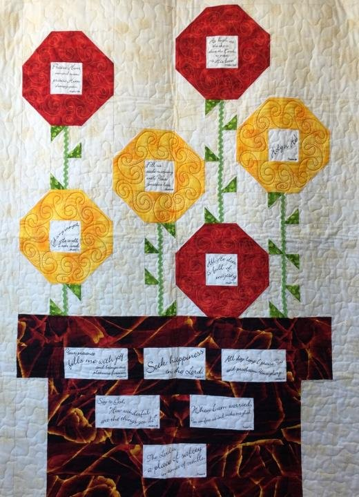 Prayer Blossom Quilt