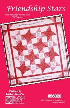 Friendship Stars Quilt Pattern Only