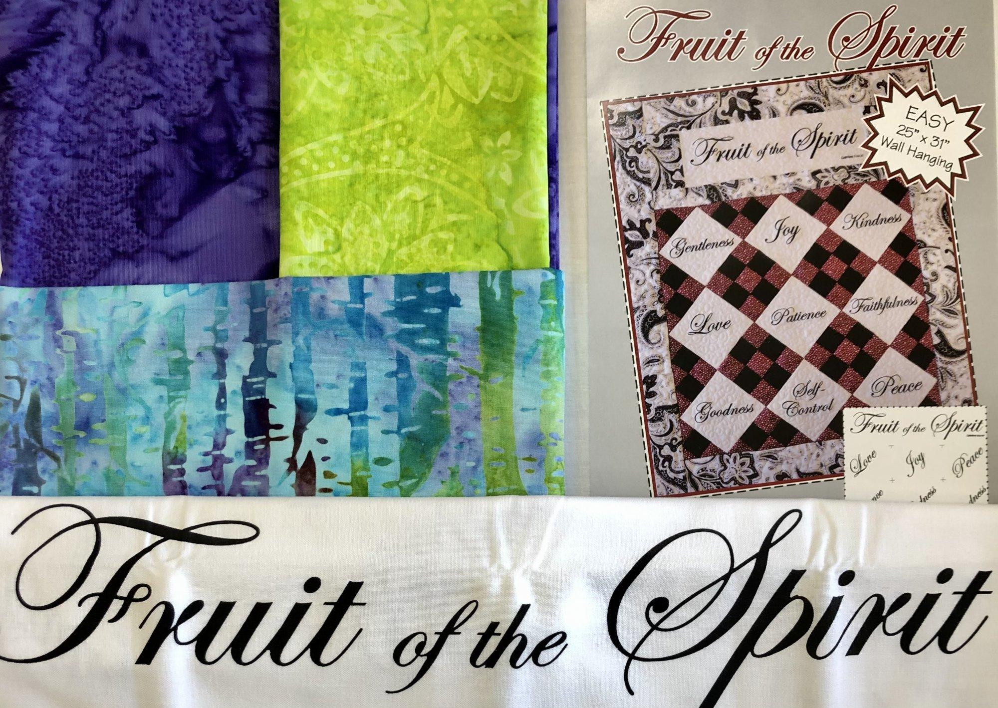 Fruit of the Spirit Quilt Kit