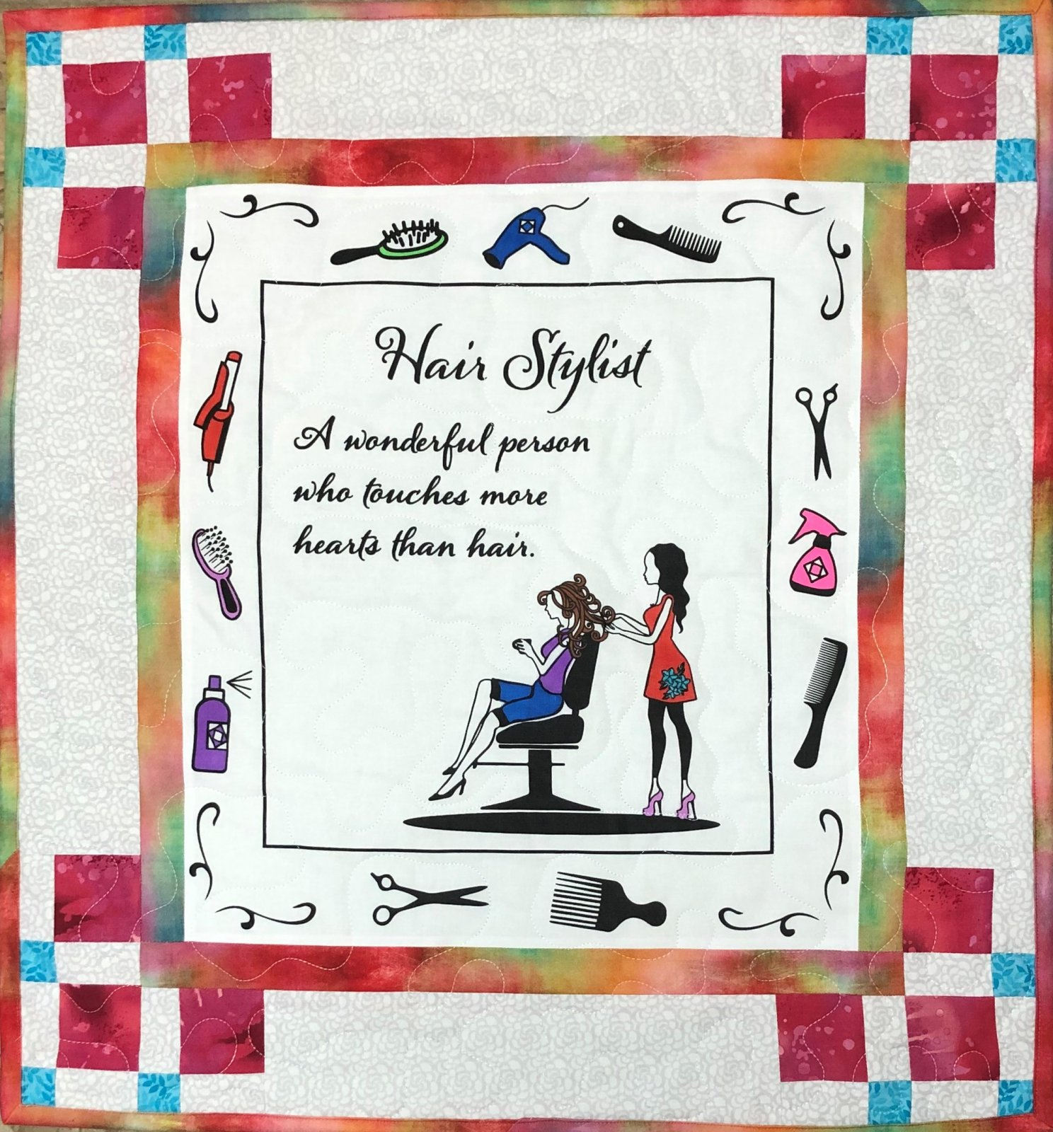 Love Is In The Hair Quilt Kit