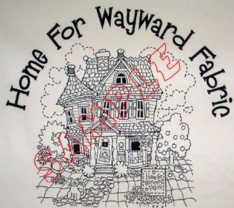Home for Wayward Fabrics Fabric Panel