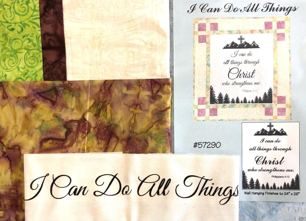 I Can Do All Things Quilt Kit