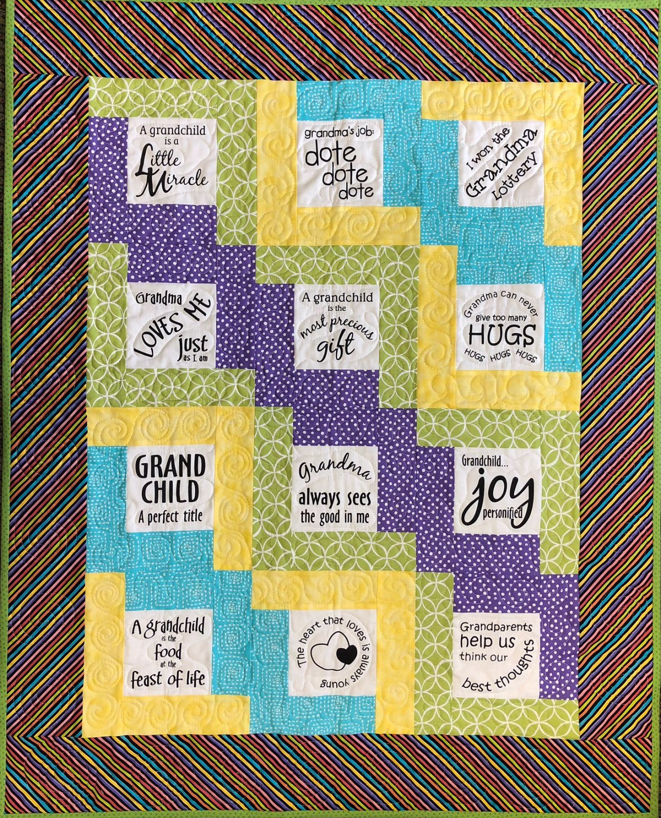 Glorious Grandchild Baby Quilt Kit