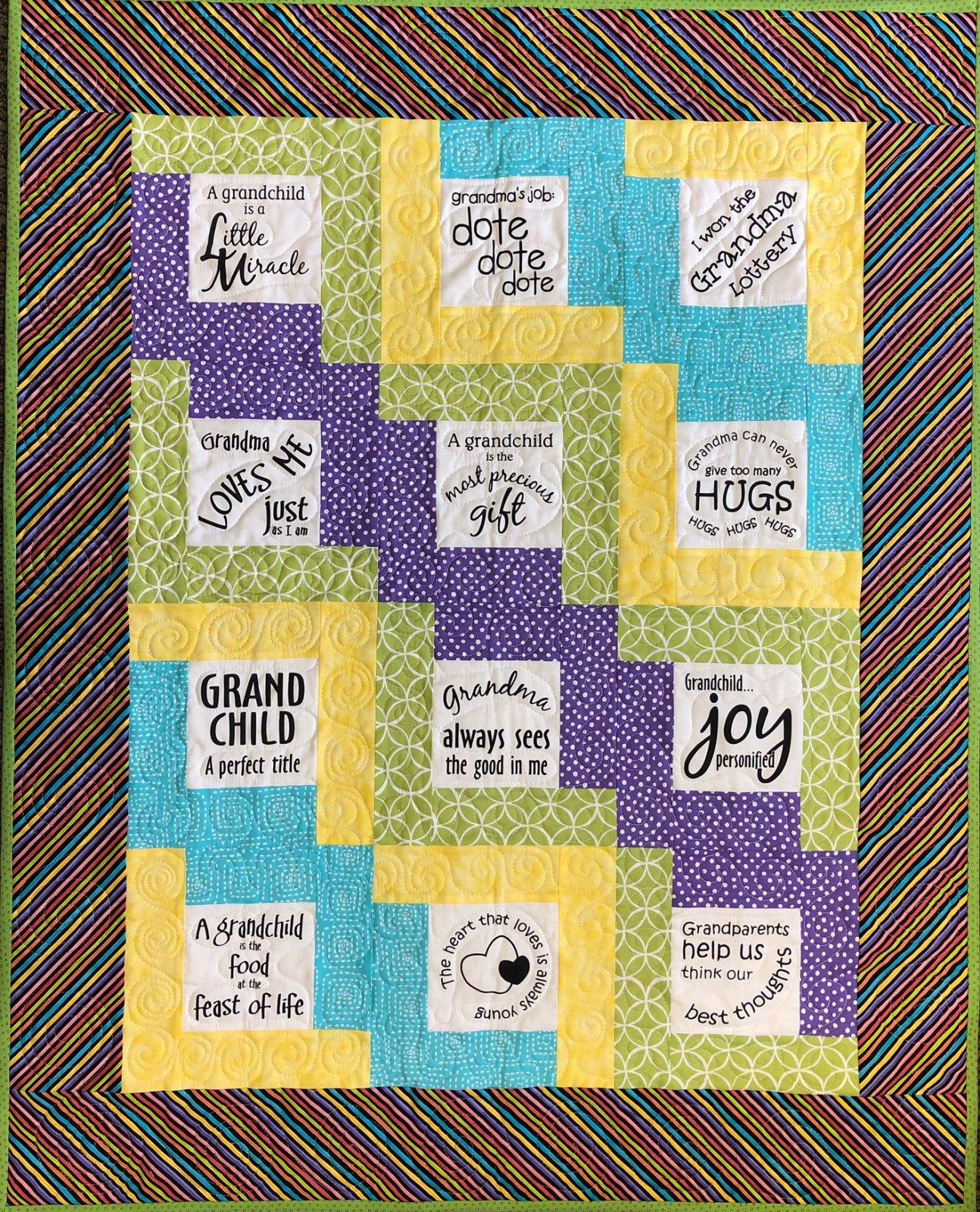 Glorious Grandchild Baby Quilt Kit