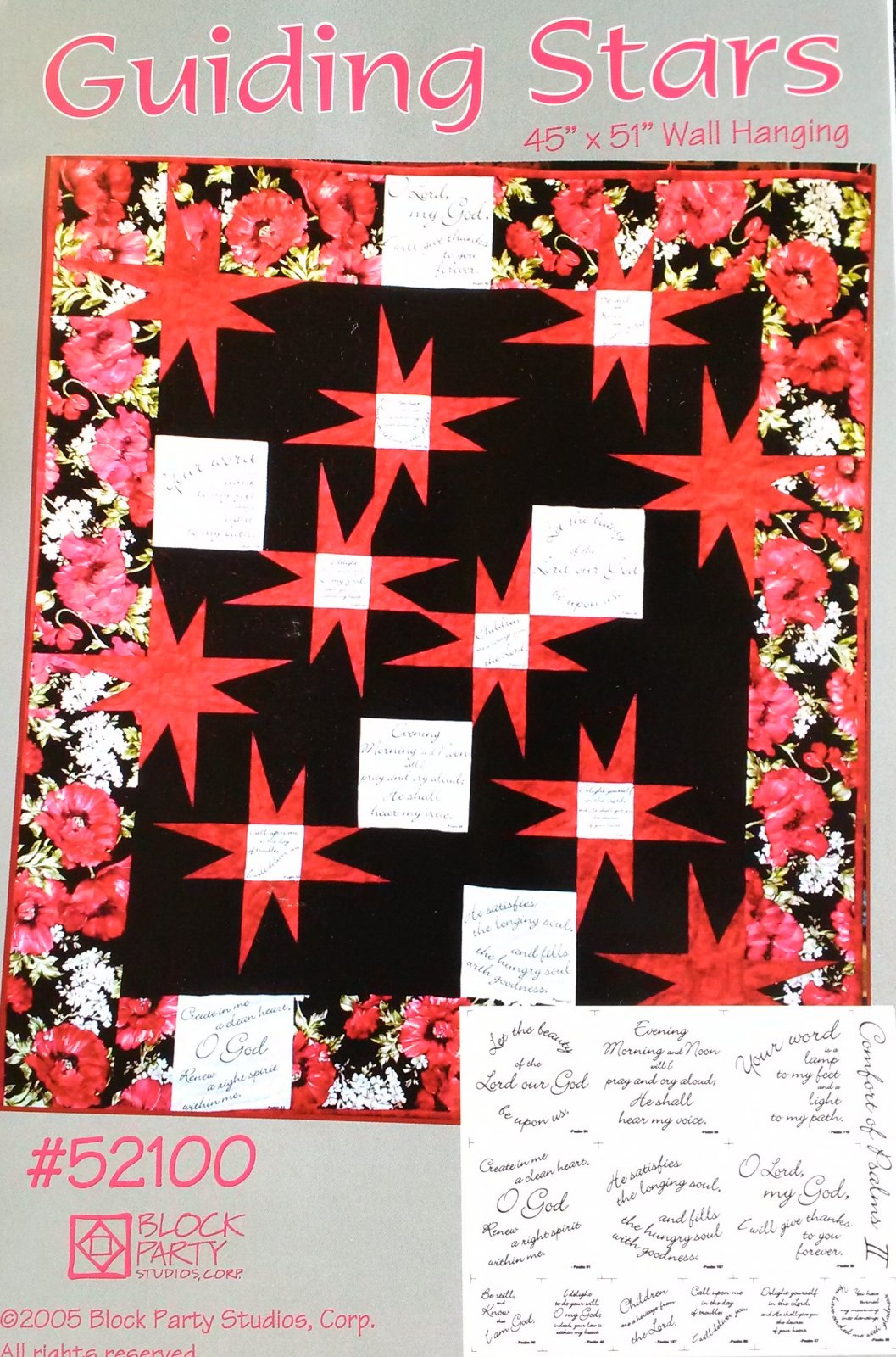 Guiding Stars Quilt Pattern and Panel