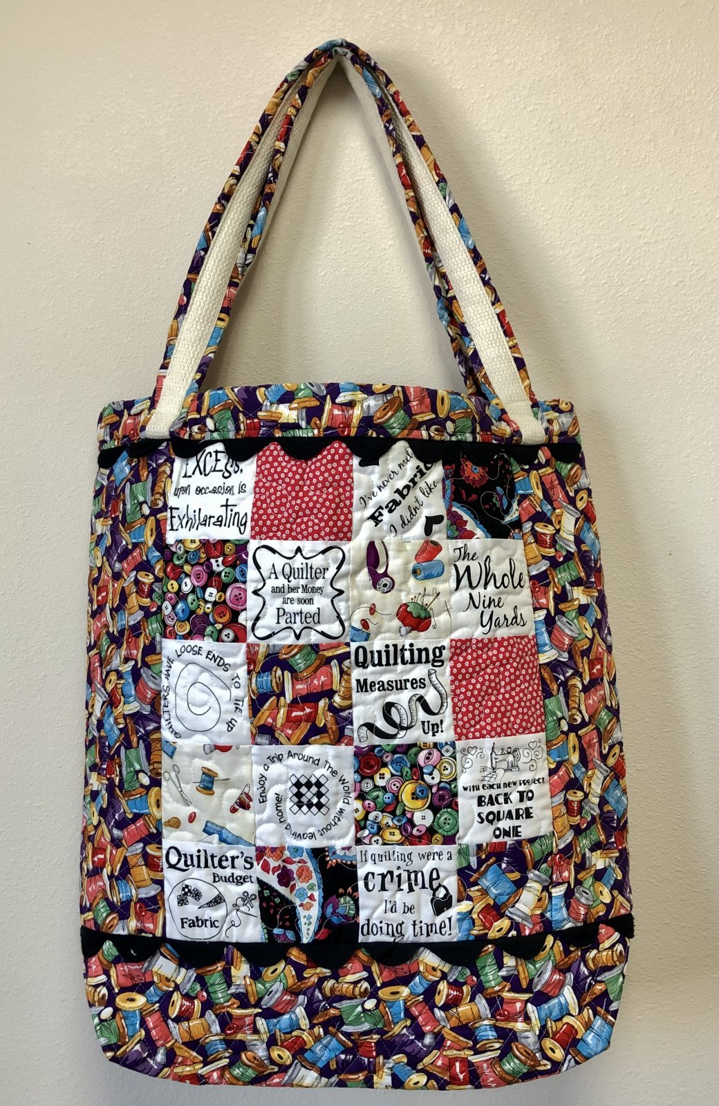 Ultimate Quilt Show Tote Bag
