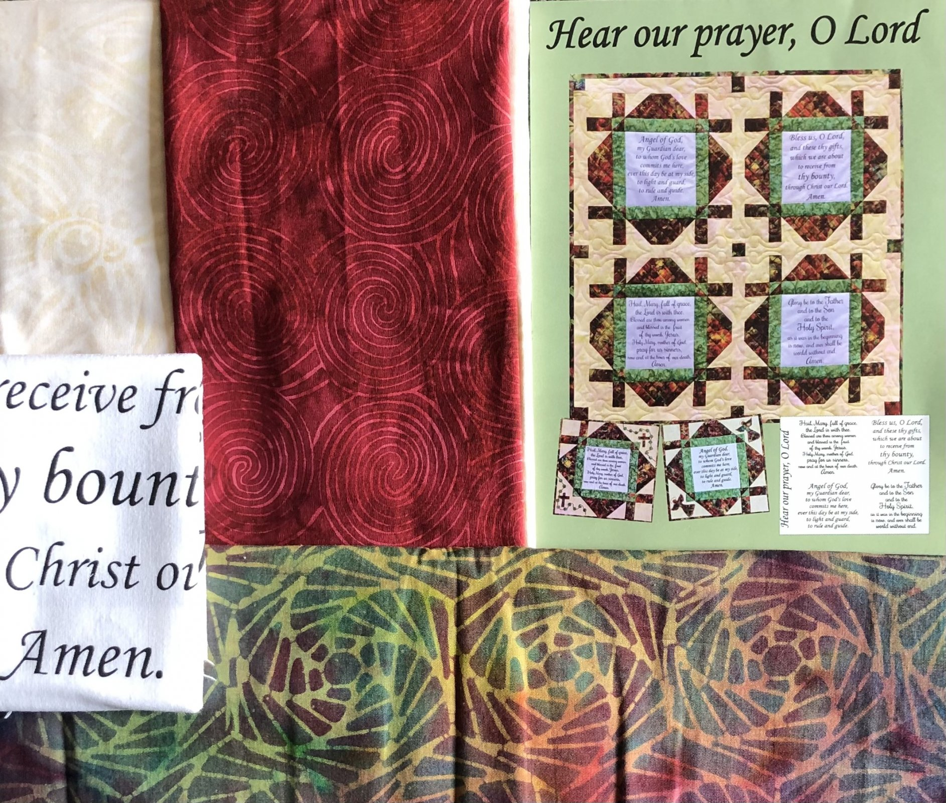 Hear Our Prayer, Oh Lord Quilt Kit