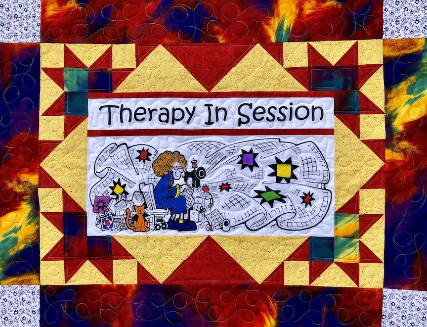 Therapy In Session Quilt Kit