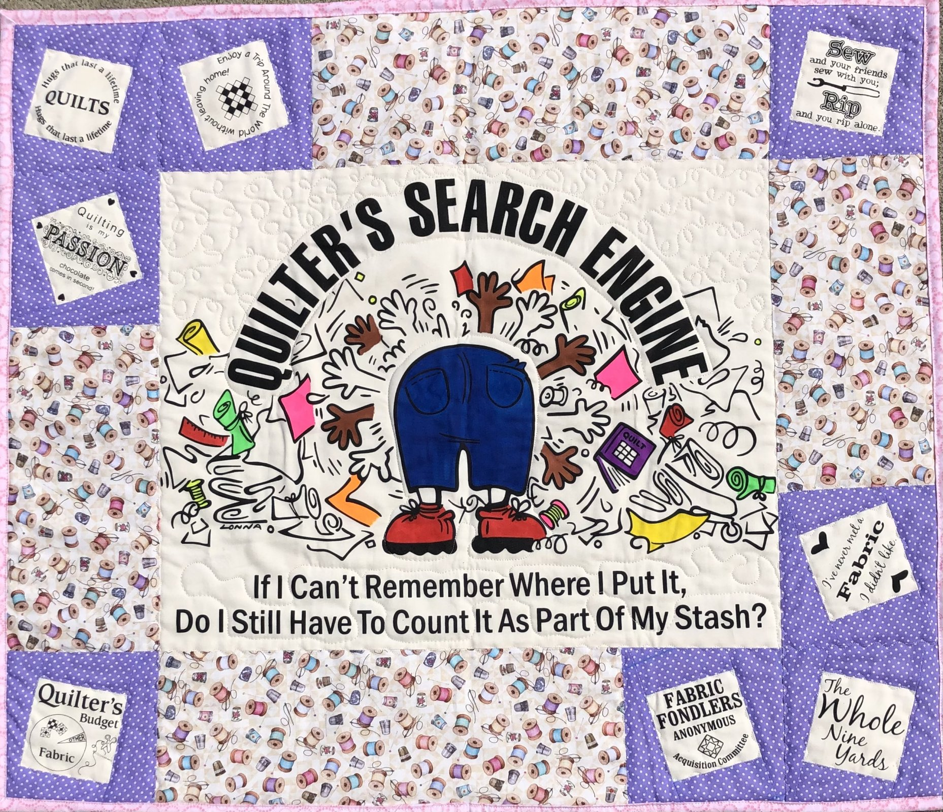 Quilter's Search Engine Quilt Kit