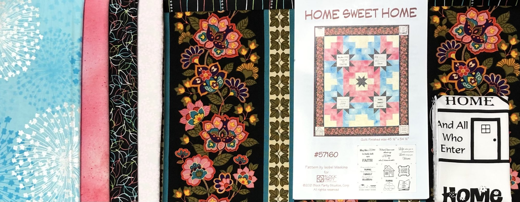 Home Sweet Home Quilt Kit