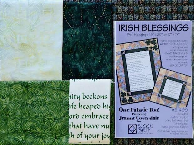 Irish Blessings Quilt Kit