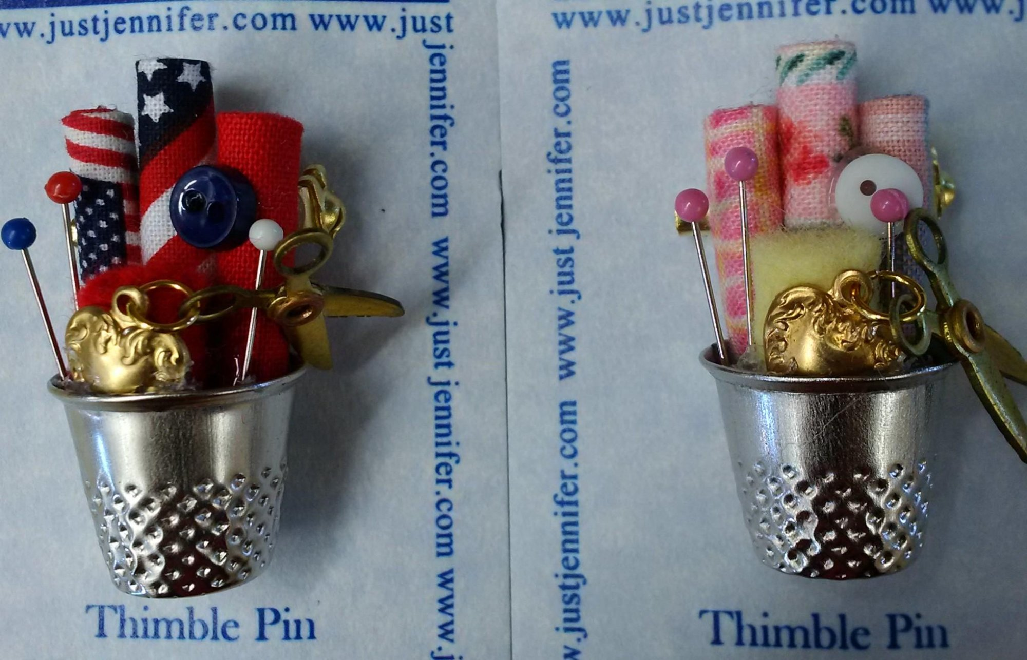 Thimble Pin by Just Jennifer