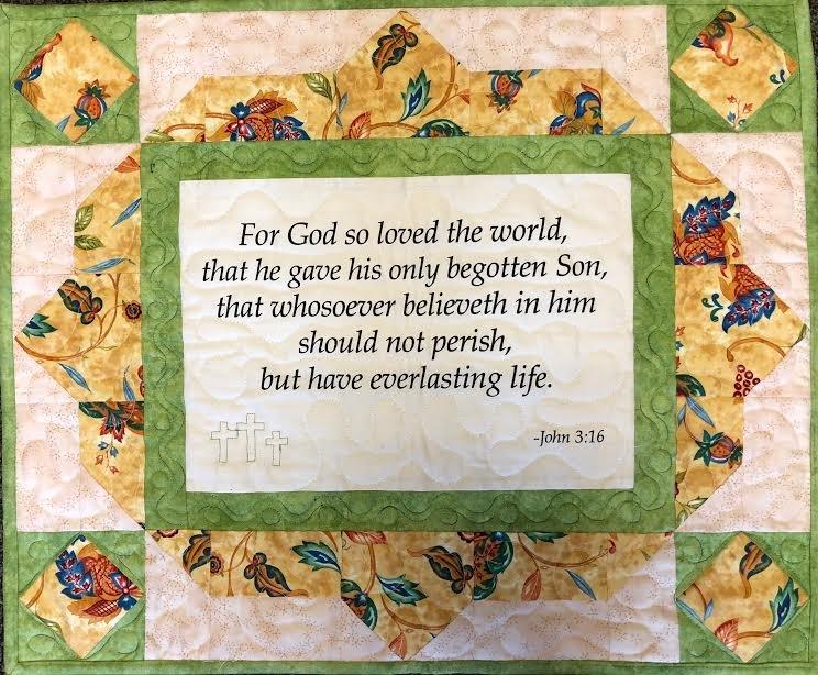 John 3:16 Quilt Kit