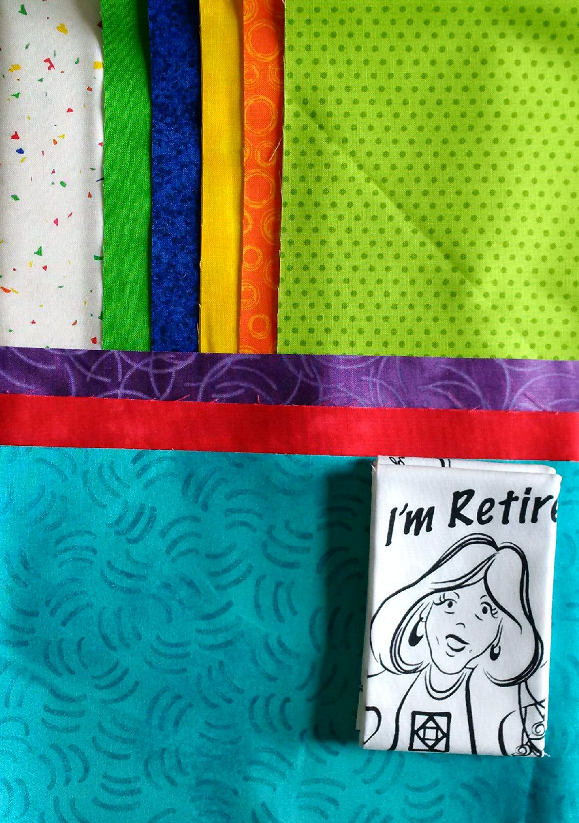 Retirement Lane Quilt Kit