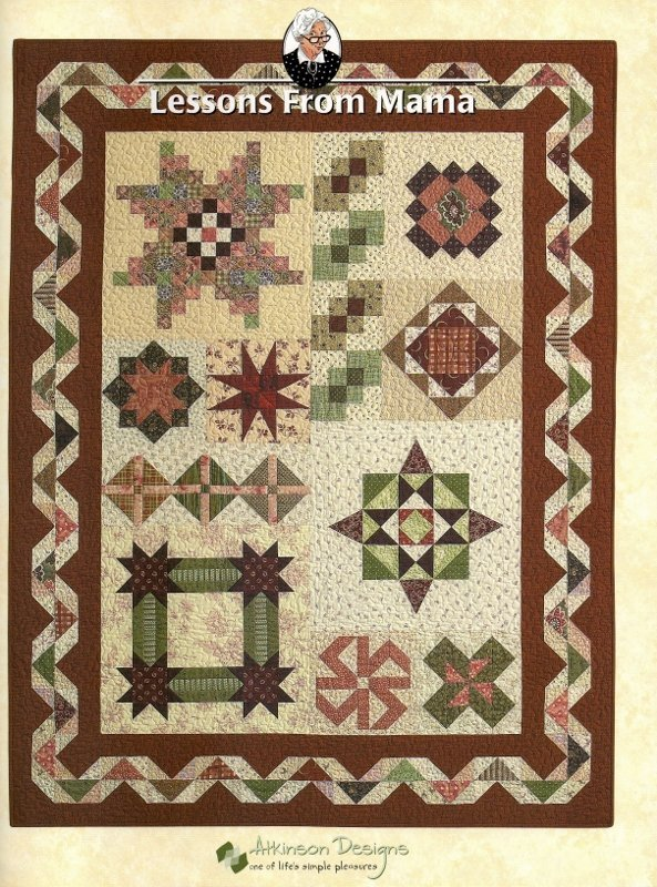 Lessons From Mama Quilt Book