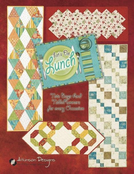 Let's Do Lunch Quilt Book