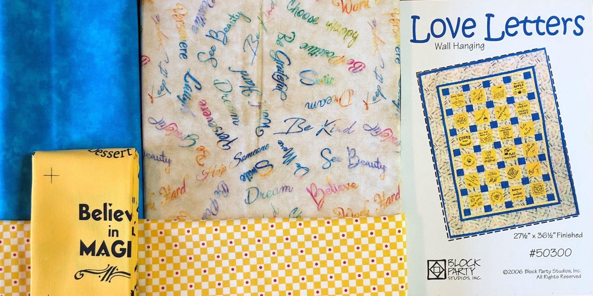 Love Letters Quilt Kit