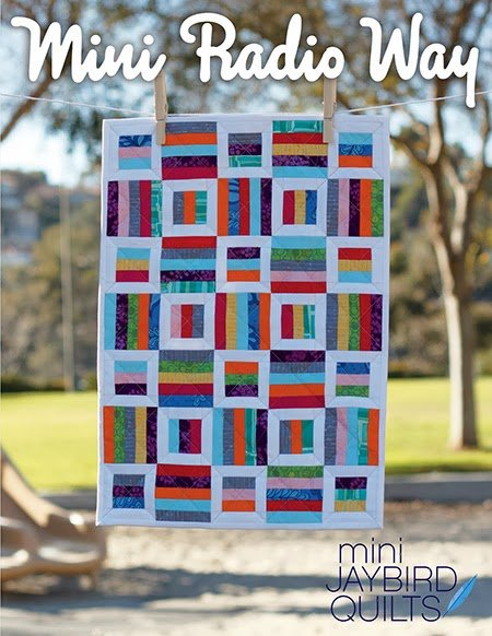 Mini Radio Way Pattern by JayBird Quilts