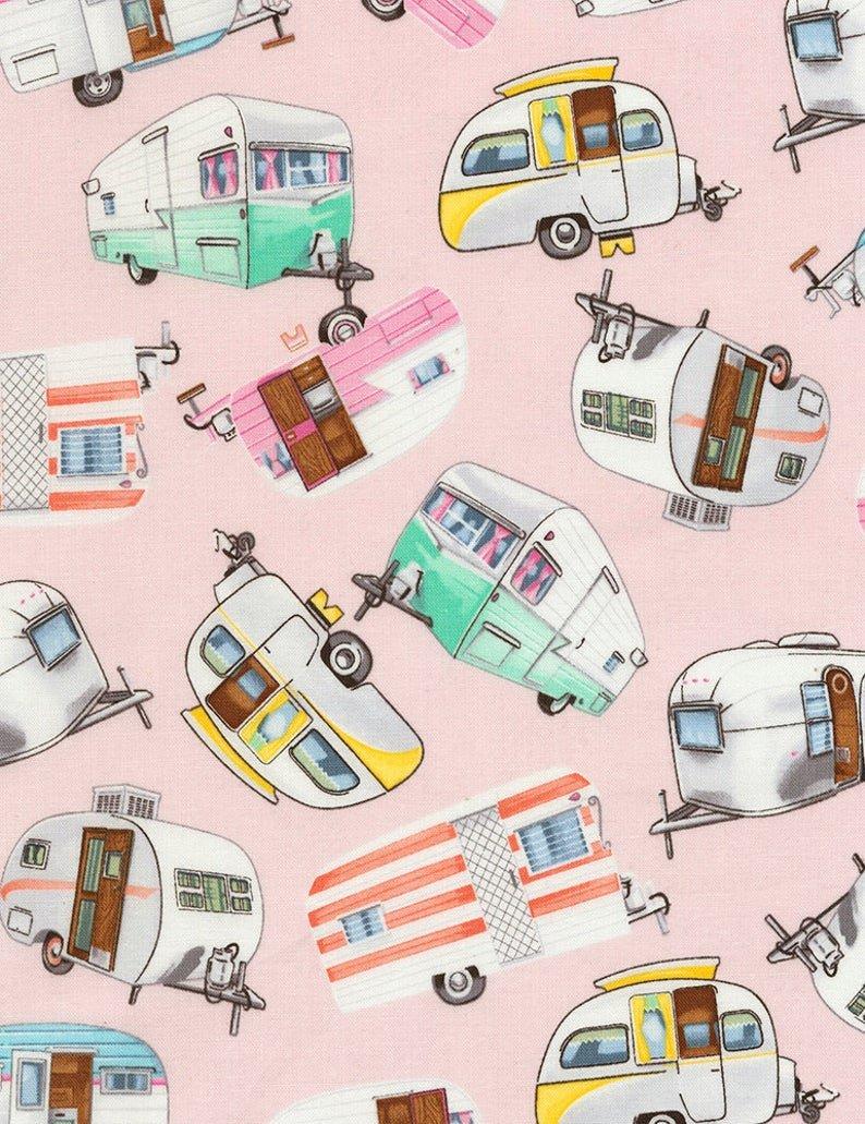 Pink RV Fabric
