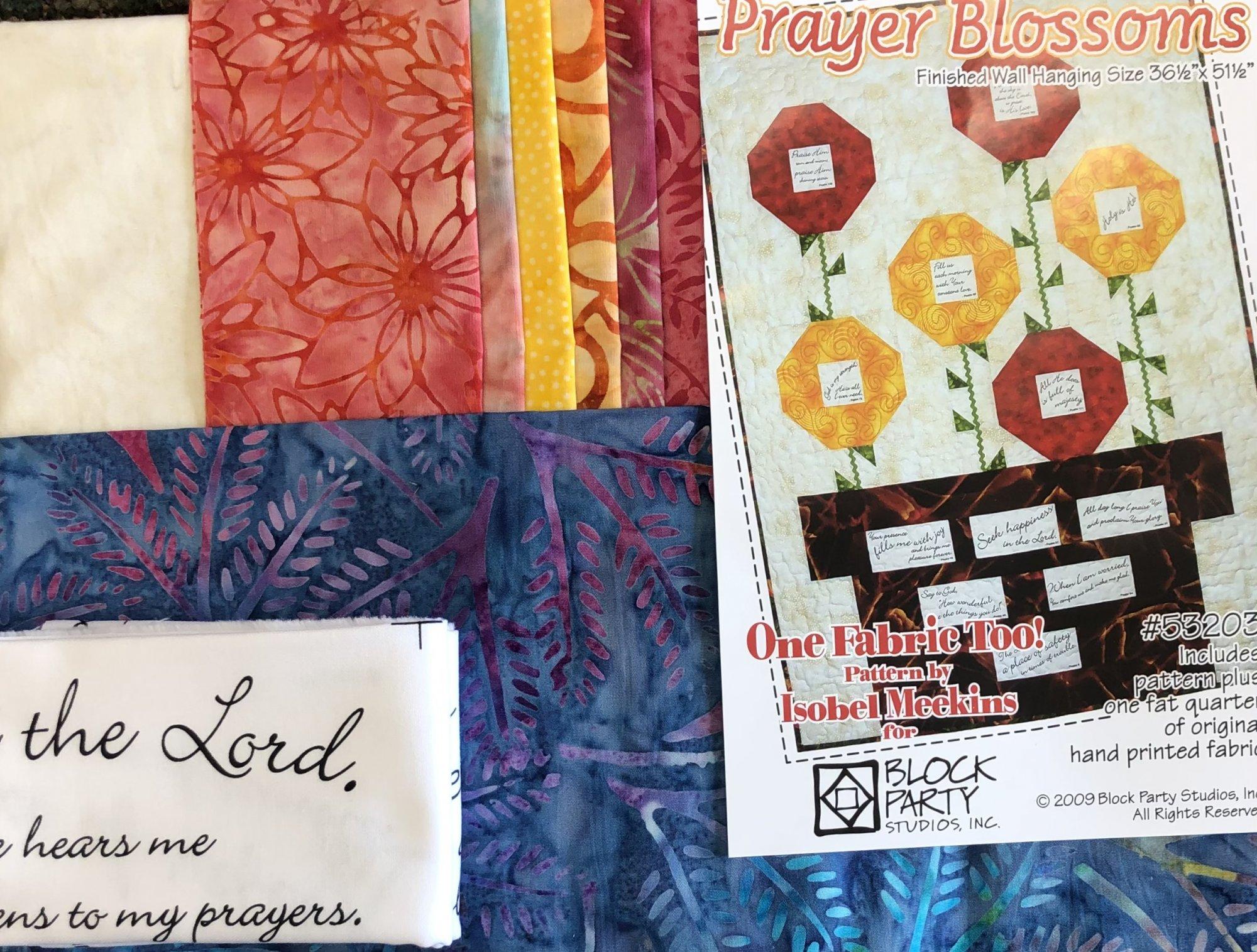 Prayer Blossoms Quilt Kit