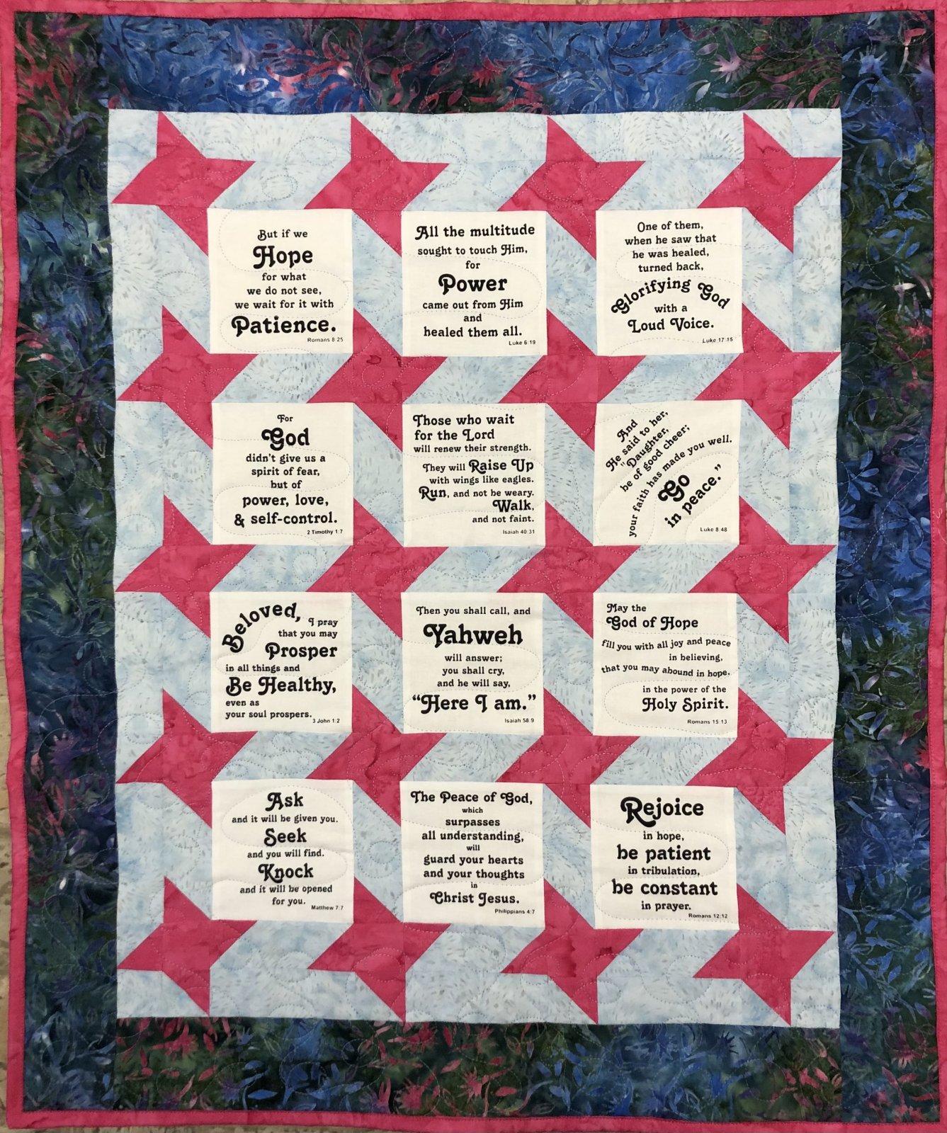Prayer Shawl Quilt Kit