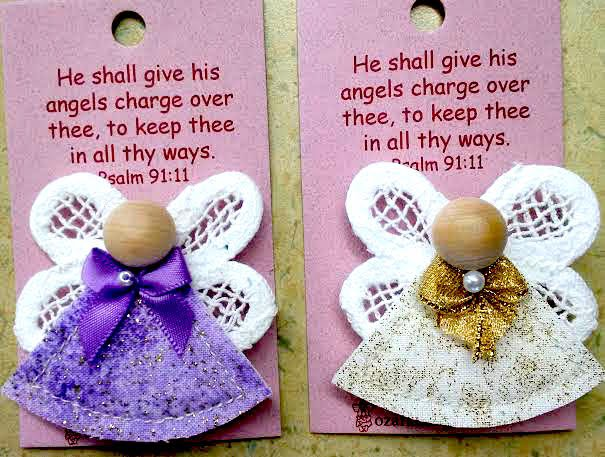Psalm 91 Angel Pins
