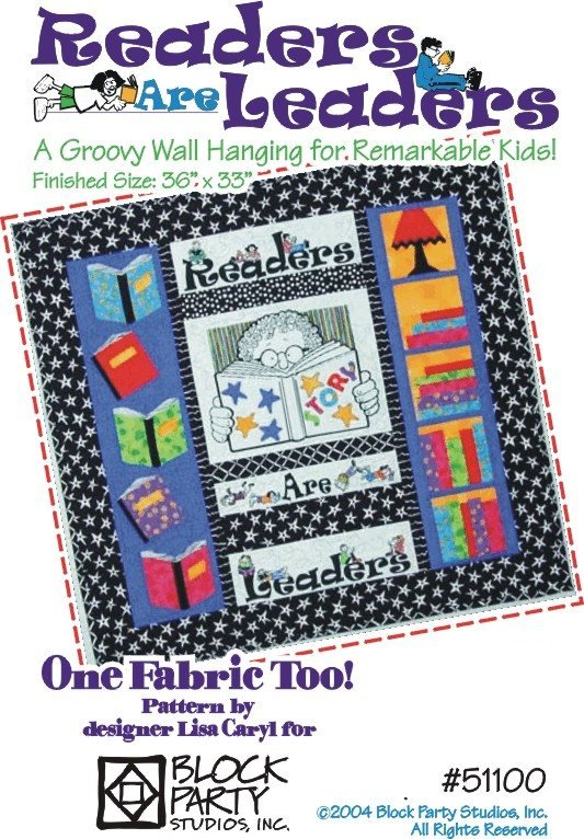 Readers Are Leaders Quilt Pattern Only