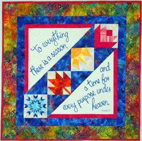 Seasons of Life Quilt Fabric Kit
