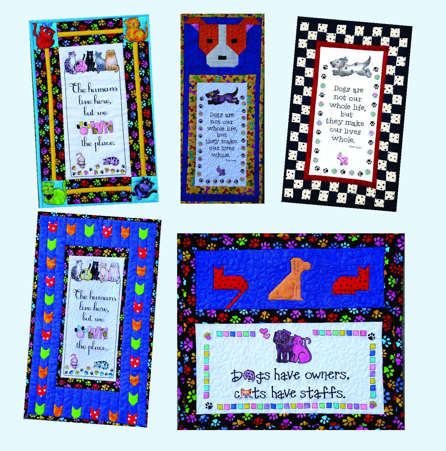 Animal Lovers Fabric Panel & Pattern