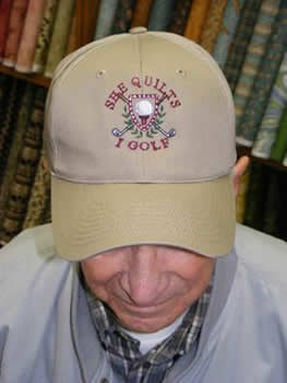 She Quilts - I Golf Cap