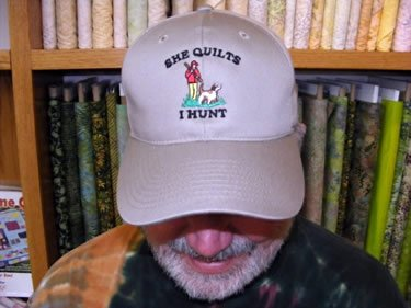 She Quilts - I Hunt Cap