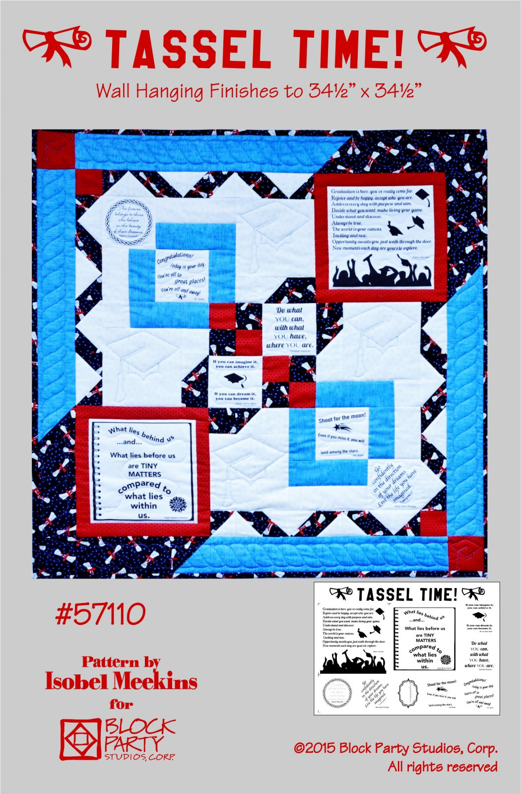 Tassel Time Quilt Pattern