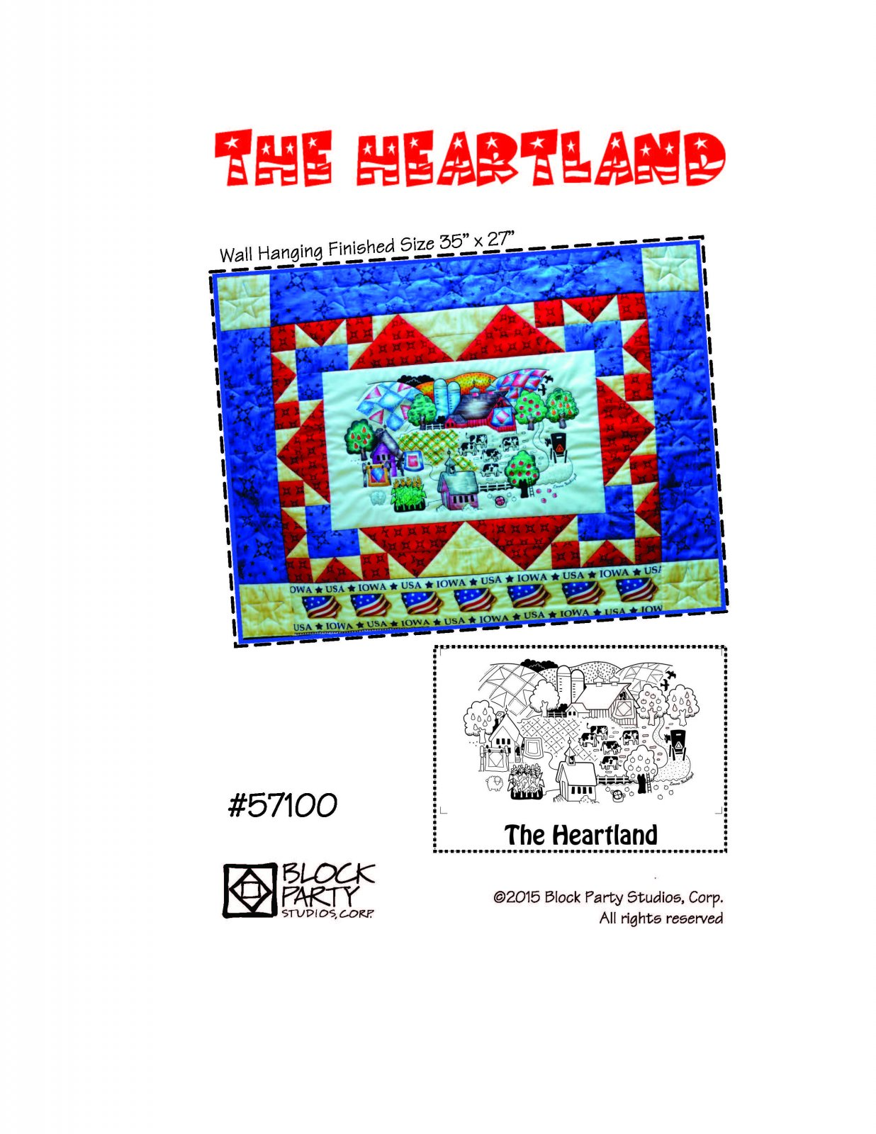 The Heartland Pattern Only