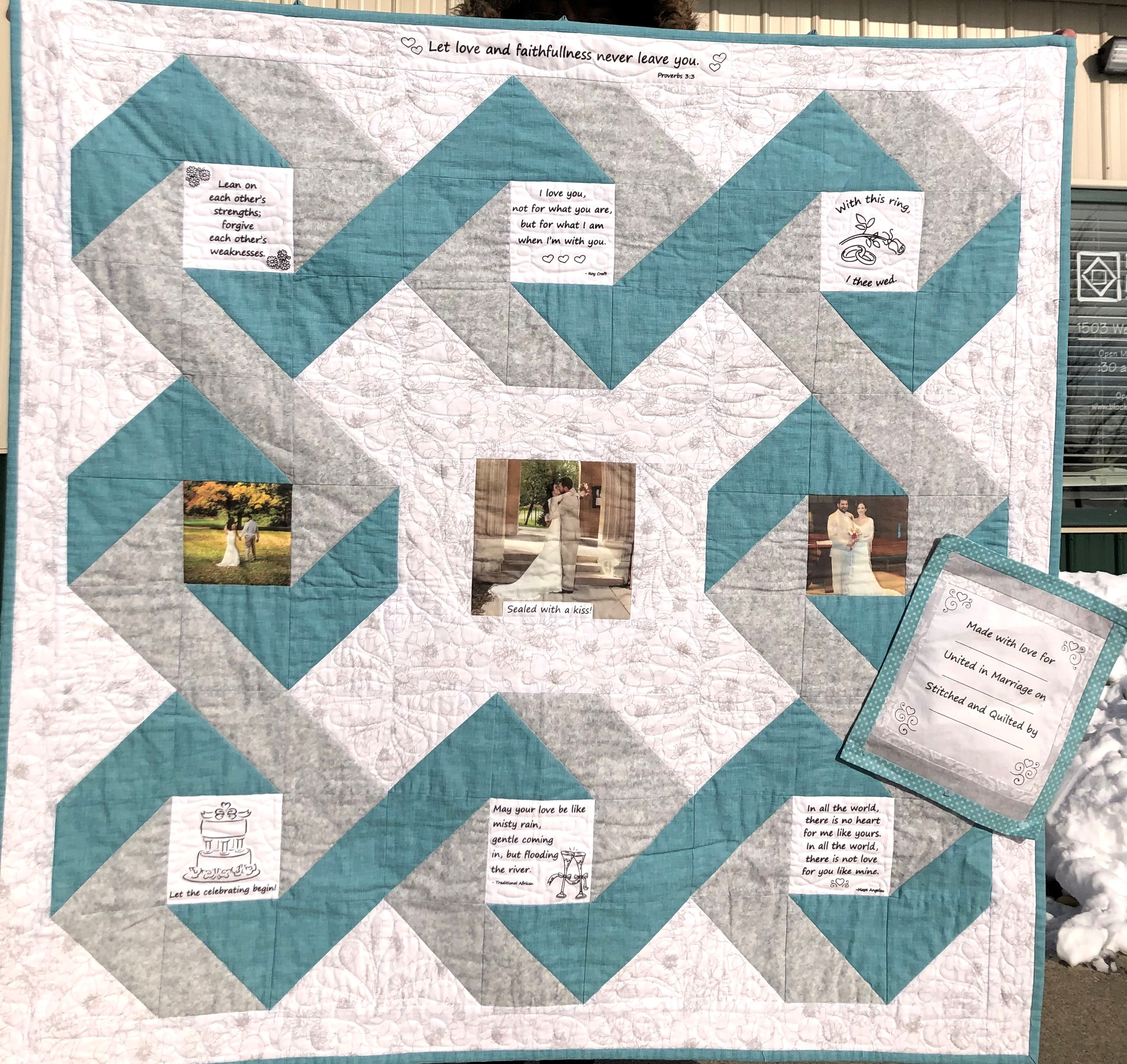 To Have and To Hold Quilt Kit
