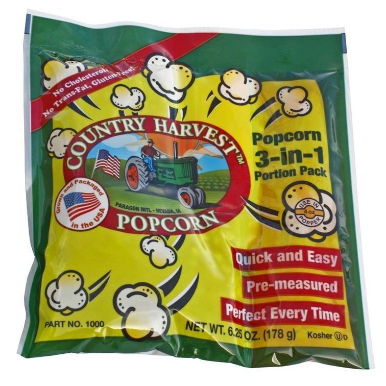 4oz Popcorn Portion Tri-Pack Mega Case 40/case