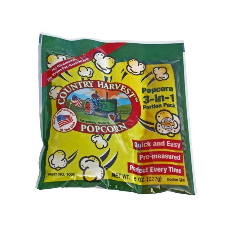 6oz Popcorn Portion Tri-Pack Mega Case 40/case
