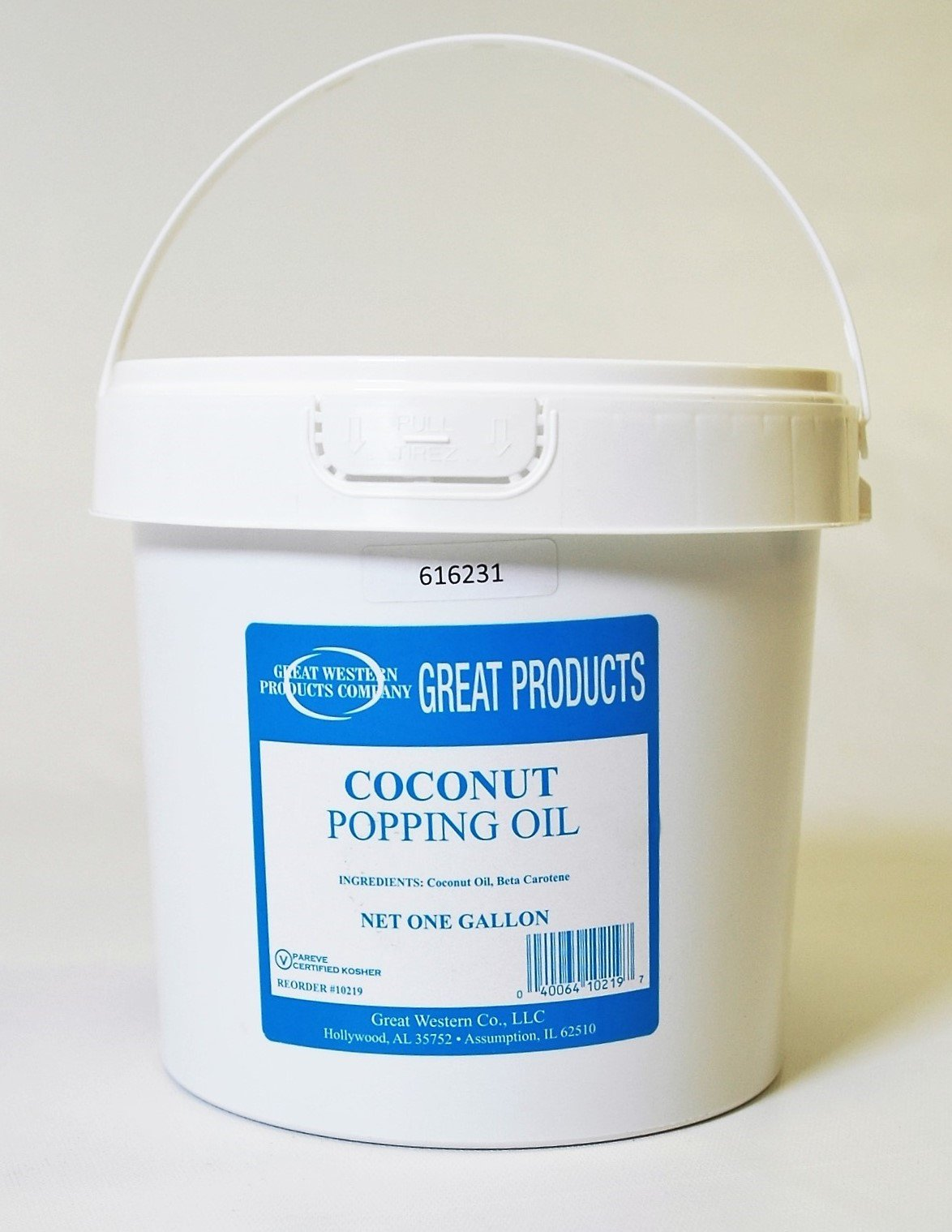Coconut Oil - One Gallon Yellow