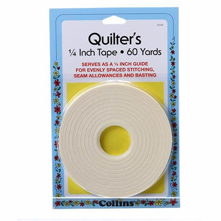 QUILTER'S TAPE 1/4 INCH