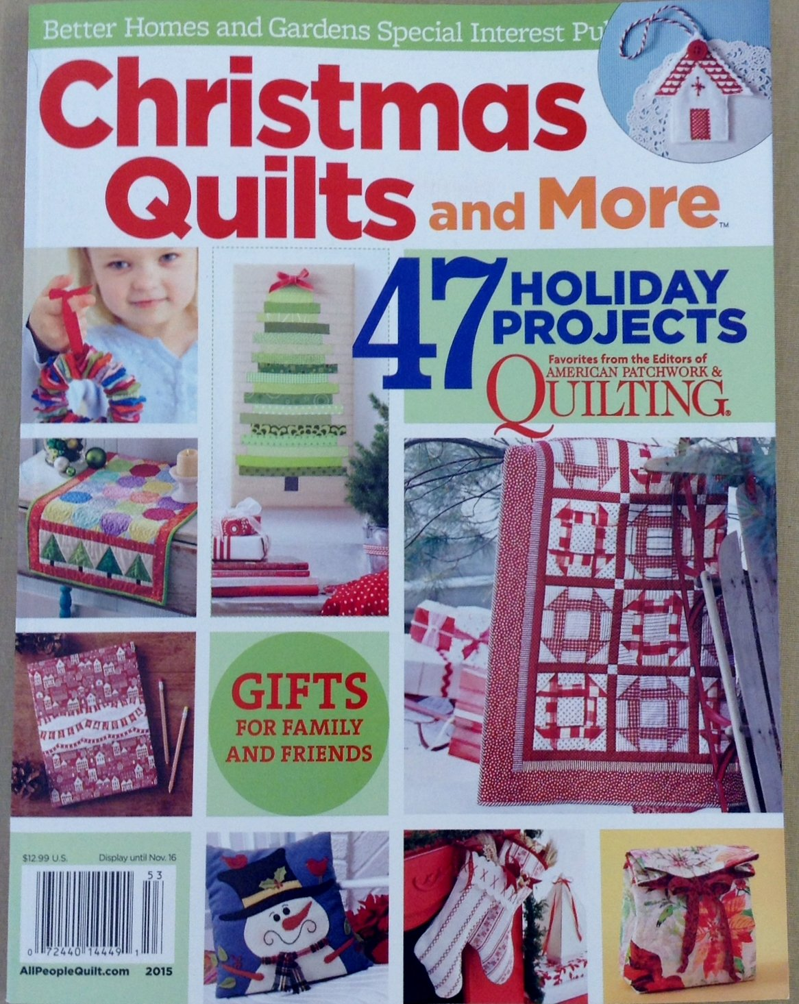 Christmas Quilts and More 2015