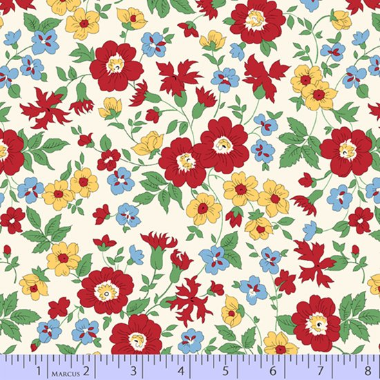 Aunt Grace's Apron - Wildflowers