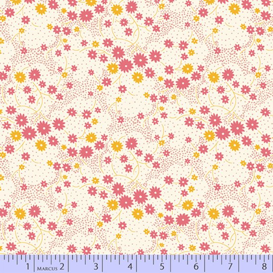 Aunt Grace's Apron - Pink Sprinkle Blooms