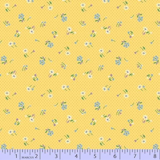 Aunt Grace's Apron --  Yellow Mini Meadow